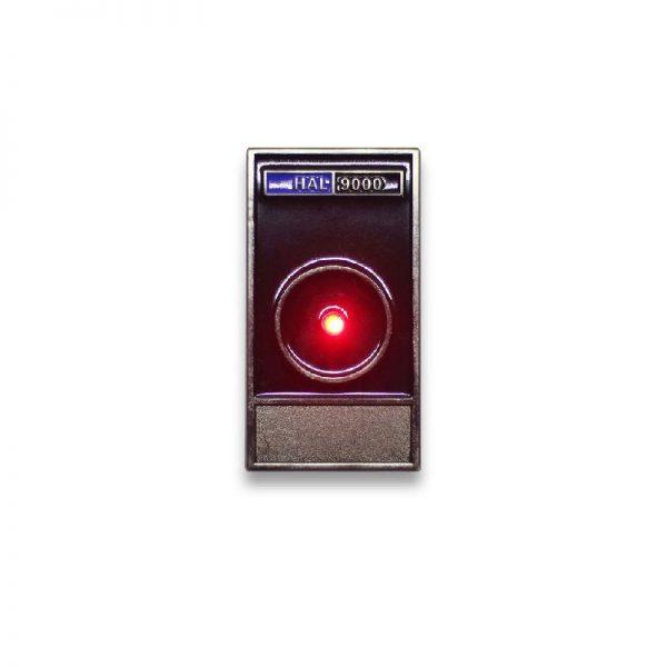 HAL 9000 LED Enamel Pin