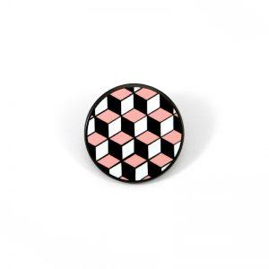 Honeycomb Enamel Pin