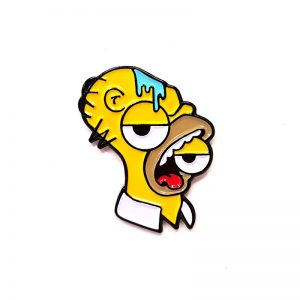 Ignorance - Picasso Homer Enamel Pin