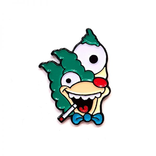 Ignorance Picasso Krusty Enamel Pin