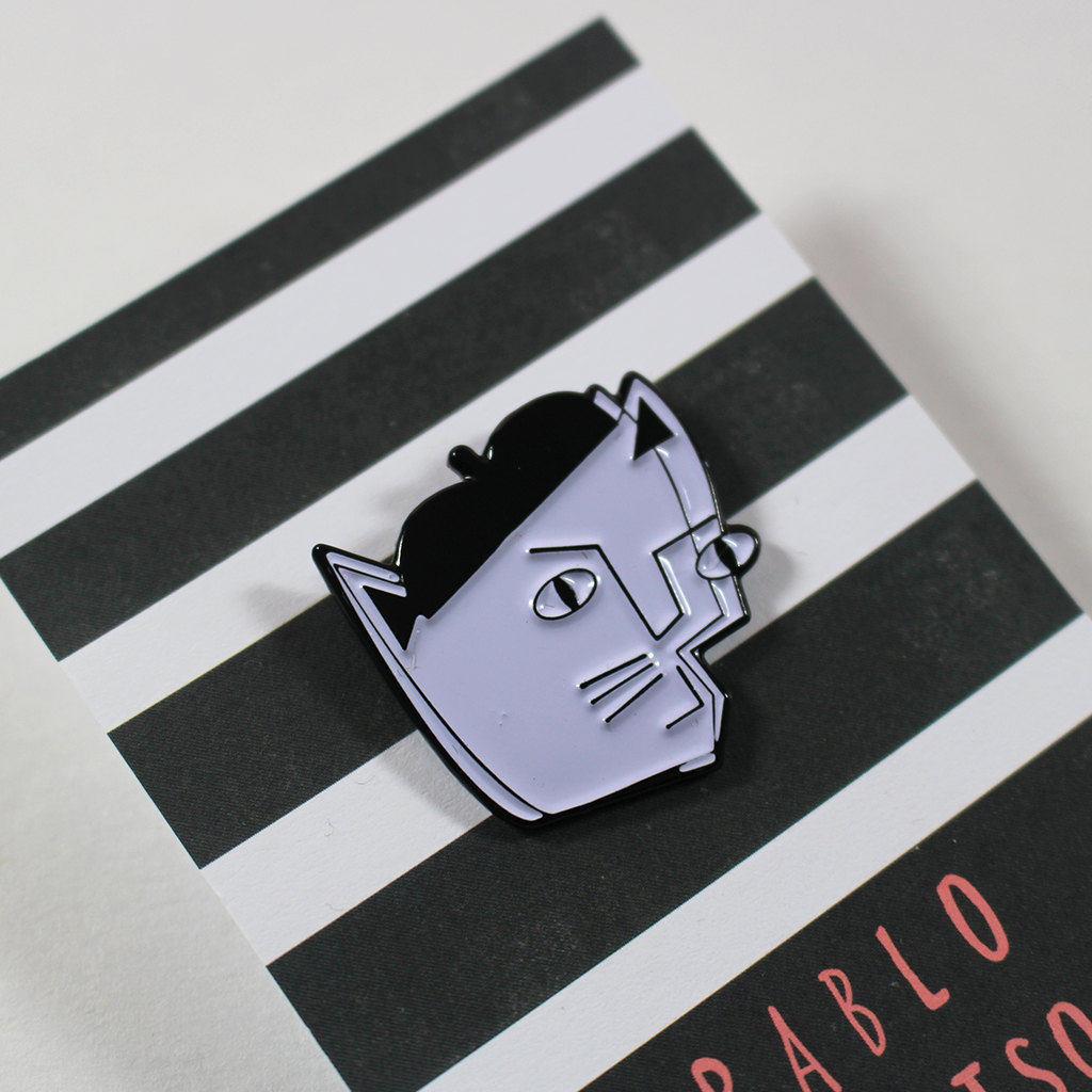 Pablo Picatso Enamel Pin