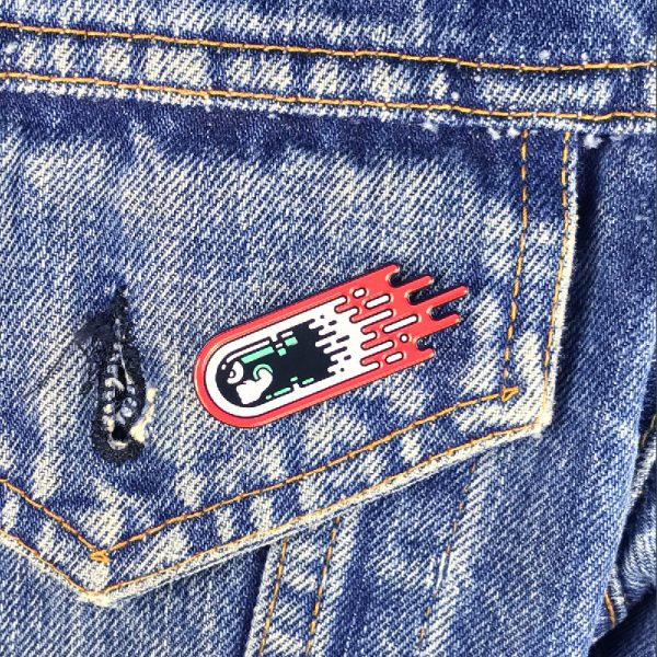Meteor Bill Enamel Pin