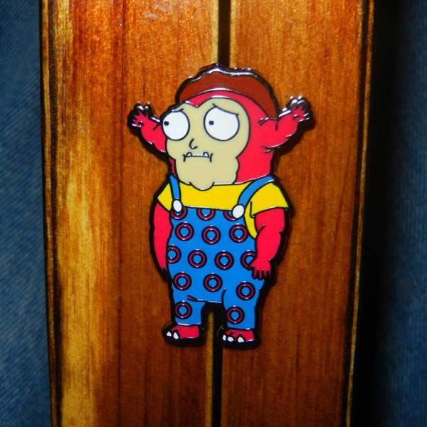 Morty Jr Enamel Pin