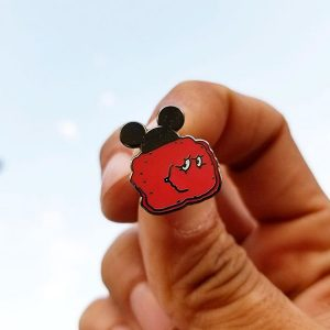 Mousewad Enamel Pin