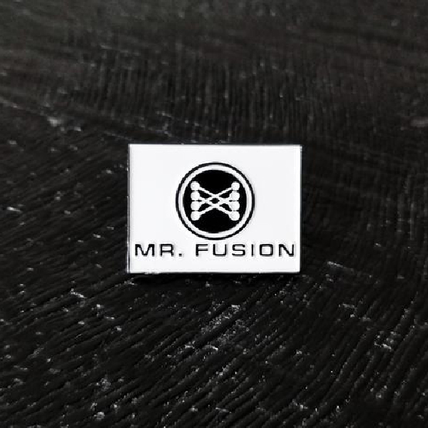 Mr. Fusion Enamel Pin