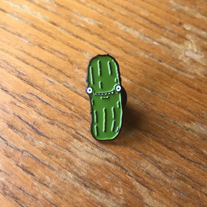 Pickle Enamel Pin