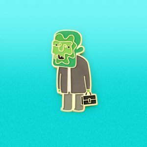 Radioactive Dave Enamel Pin