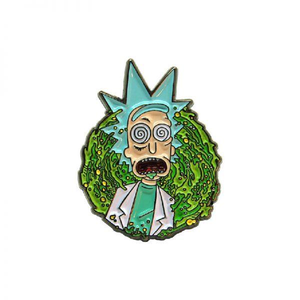 """Rick """"Dazed"""" Portal Enamel Pin"""