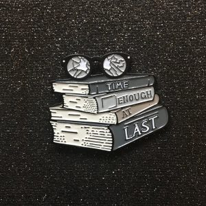 Time Enough At Last Enamel Pin