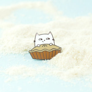 Baking Cat Enamel Pin