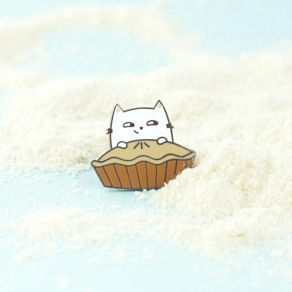 Baking Cat Enamel Pin