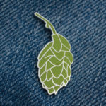 Beer Hops Enamel Pin