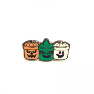 Boo Buckets Enamel Pin