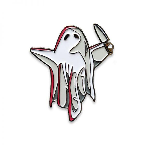 Creepy Cute Ghost Enamel Pin
