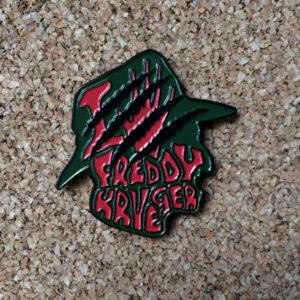 Freddy Krueger Enamel Pin