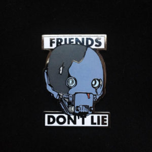 K-2SO Friends Don't Lie Enamel Pin