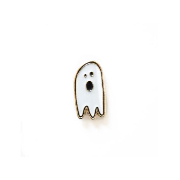 Ghost Enamel Pin