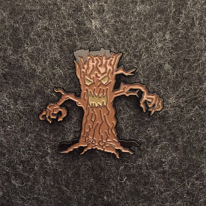 Monster Tree Enamel Pin
