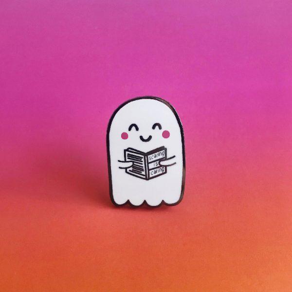 Reading Ghost Enamel Pin