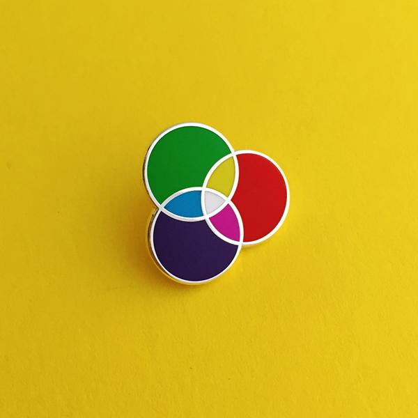 RGB Hard Enamel Pin