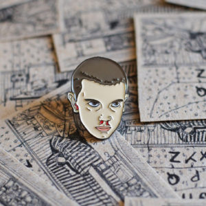 Stranger Things Elven Enamel Pin