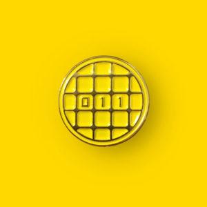 Stranger Things Waffle Enamel Pin