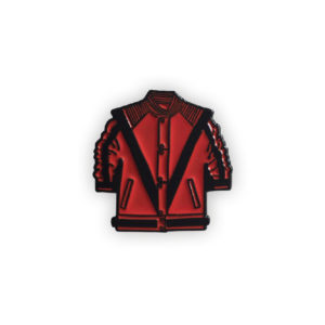 Michael Jackson Thriller Jacket Enamel Pin