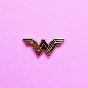 Wonder Woman Symbol Enamel Pin