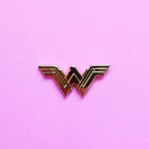 Wonder Woman Symbol Enamel Pin