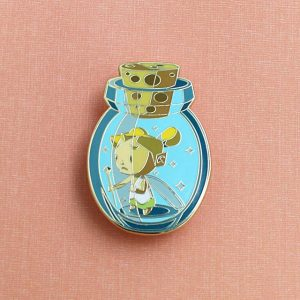 Zelda Fairy in a Bottle Enamel Pin