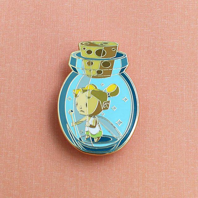 Zelda Fairy in a Bottle Enamel Pin