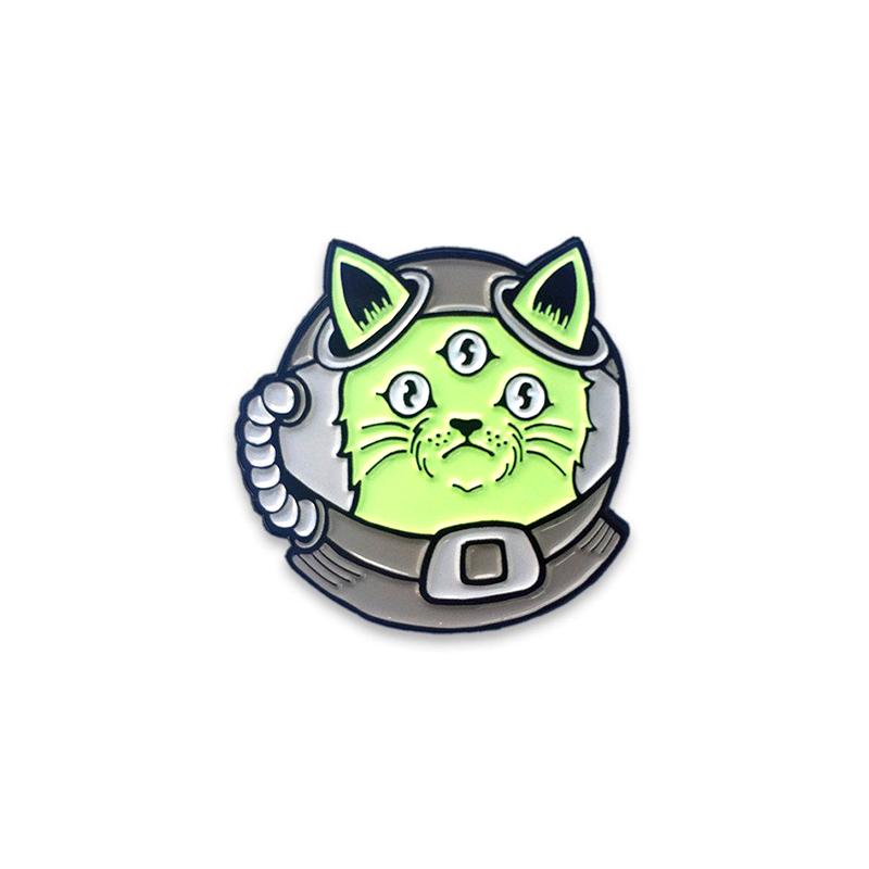 Alien Cat Enamel Pin