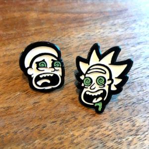 Rick and Morty Bad Trip Enamel Pin