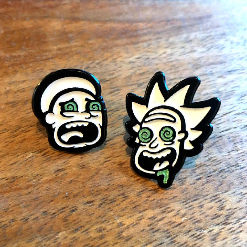 Rick and Morty Bad Trip Enamel Pin
