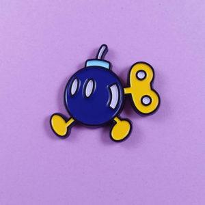Bob-omb Enamel Pin
