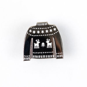 Christmas Jumper Enamel Pin
