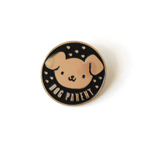 Dog Parent Enamel Pin