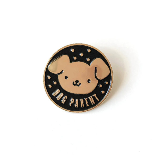 Dog Parent Enamel Pin