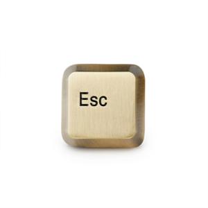 Esc Key Lapel Pin