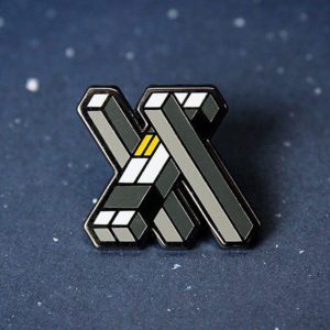 Tars Interstellar Enamel Pin