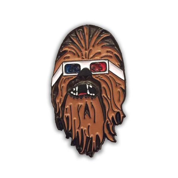 Chewbacca Enamel Pin