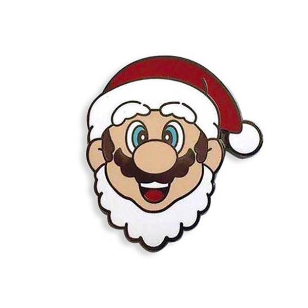 Mario Christmas Plumber Enamel Pin