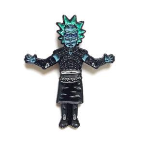 Night King Rick Enamel Pin