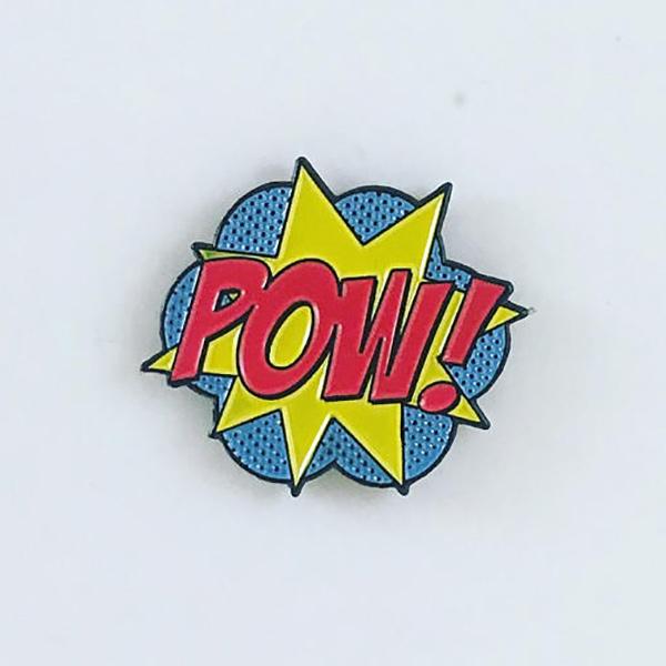 Pow Enamel Pin