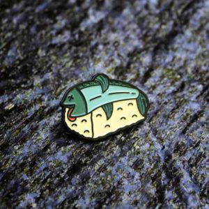 Preconceived Sushi Enamel Pin