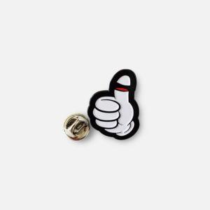 Thumb Enamel Pin