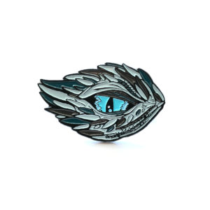 Winter's Dragon Enamel Pin