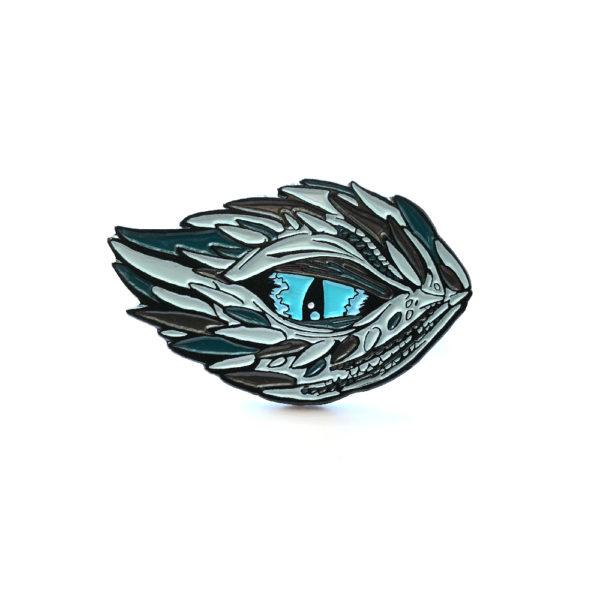 Winter's Dragon Enamel Pin