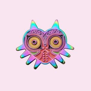 Zelda Ancient Mask Enamel Pin