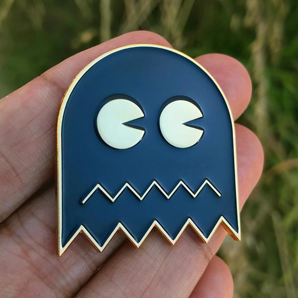I Ain't Afraid of No Ghosts Enamel Pin
